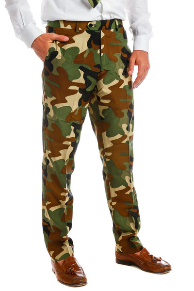 The Rogue Gentleman Camo Pants - Shinesty