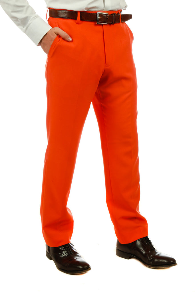 Orange Suit Pants
