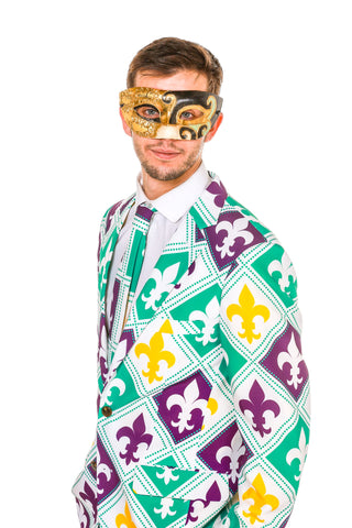 Men's Venetian Mardi Gras Mask