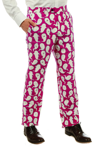 The Spermy Ghosts Halloween Pants - Shinesty