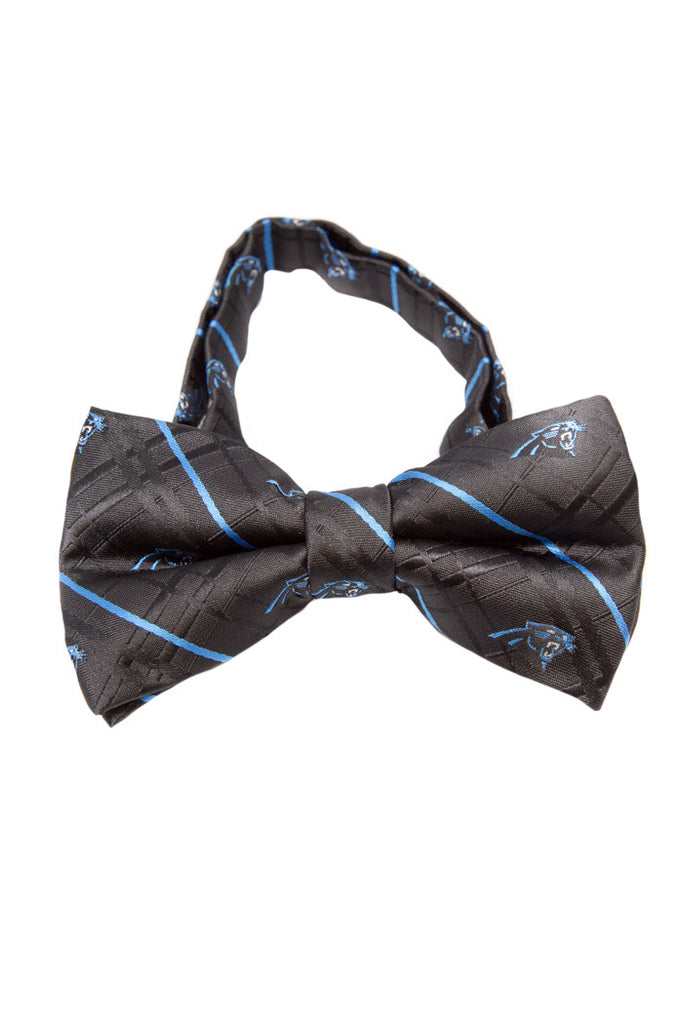 Carolina Panther Oxford Bow Tie