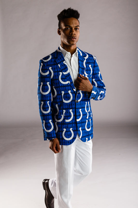 Indianapolis colts blazer for men