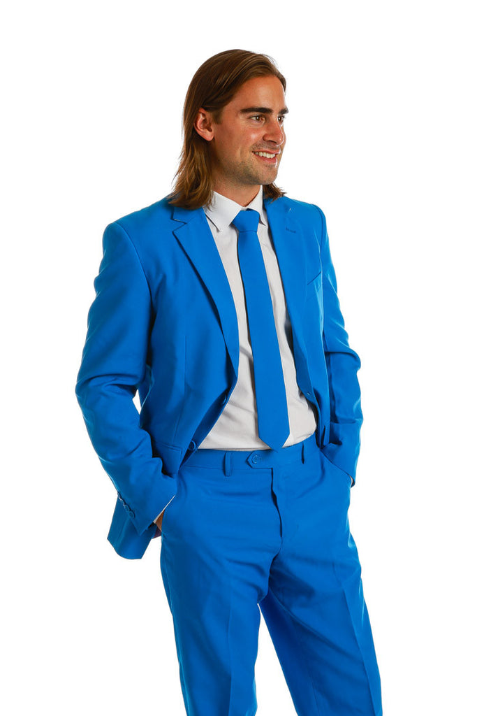 Royal Blue Suit and Tie