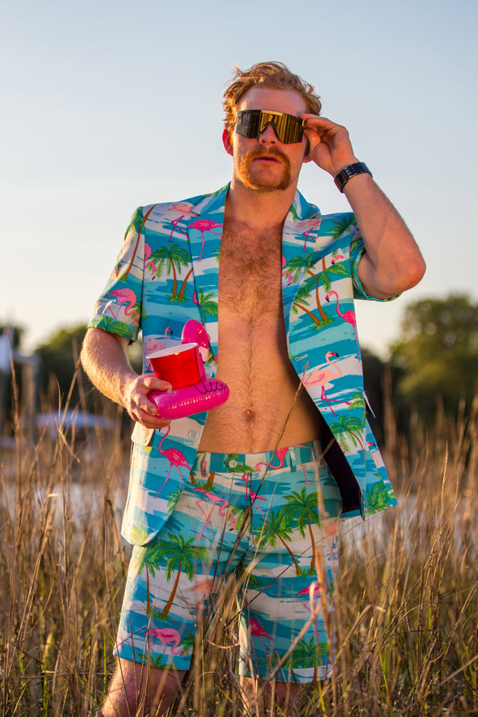 The Grand Cayman Dinghy Party Suit by Opposuits - Shinesty