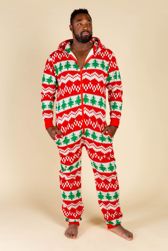The Red Ryder | Knit Print Christmas Onesie