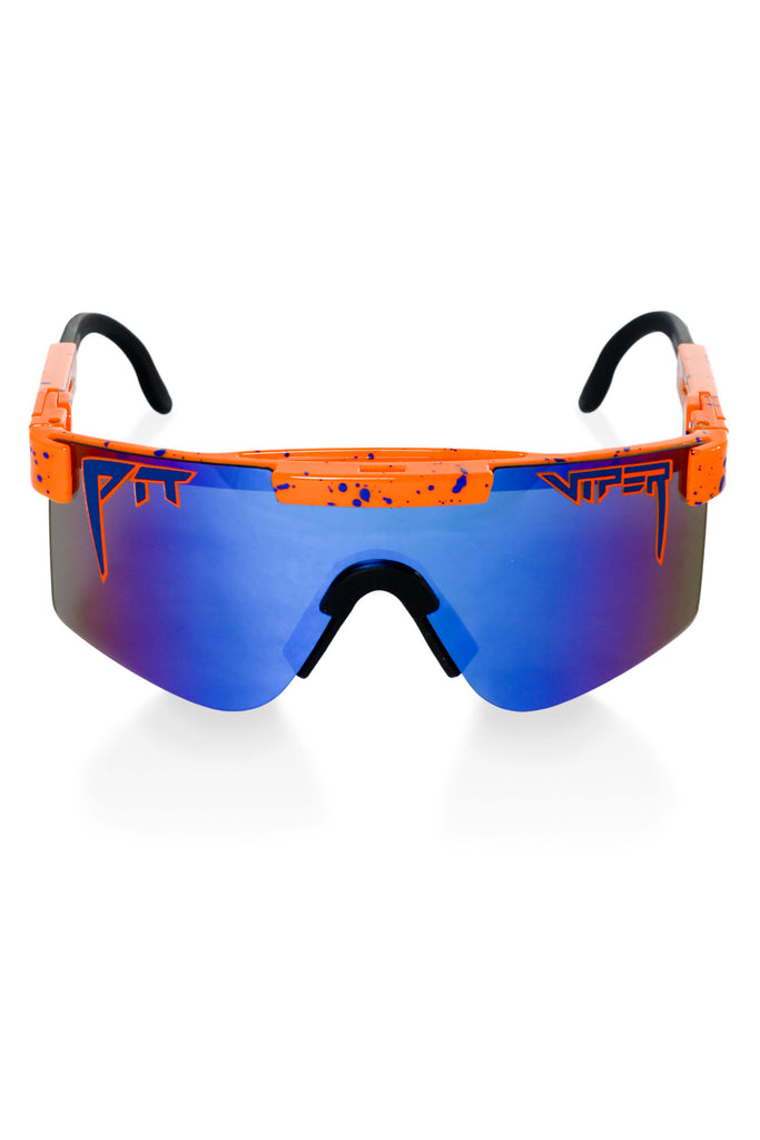 orange pit viper sunglasses
