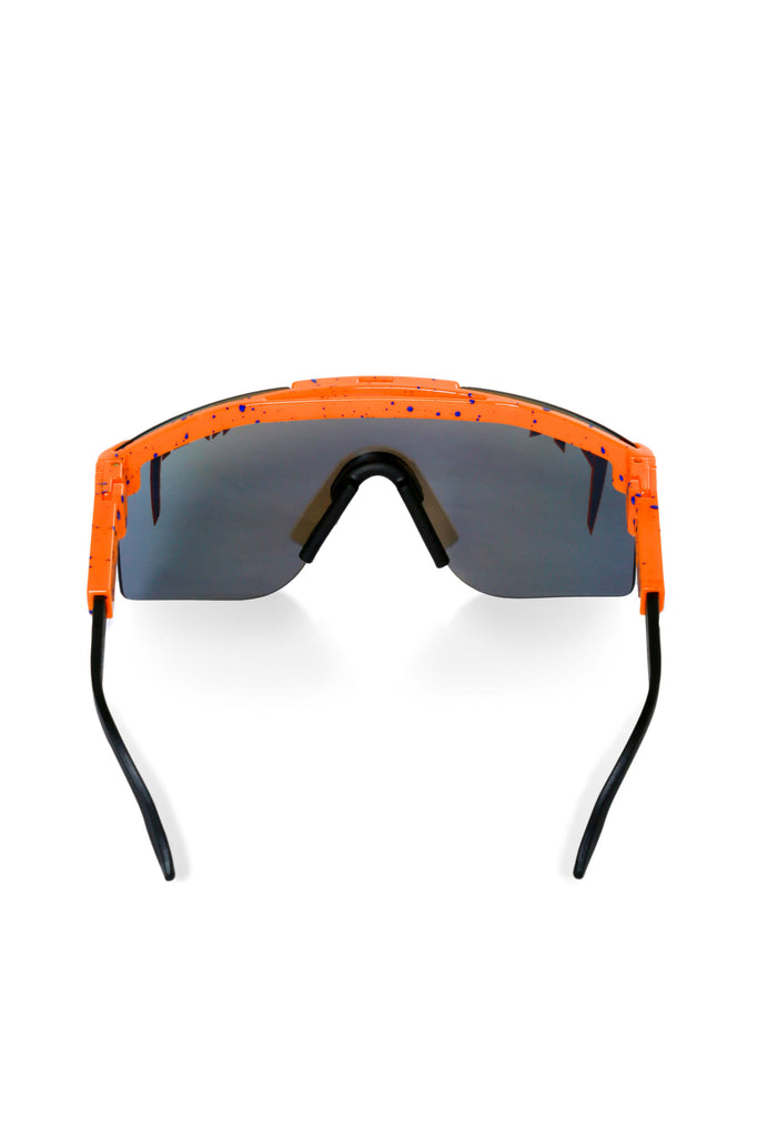 Men's Orange Polarized Pit Viper Sunglasses