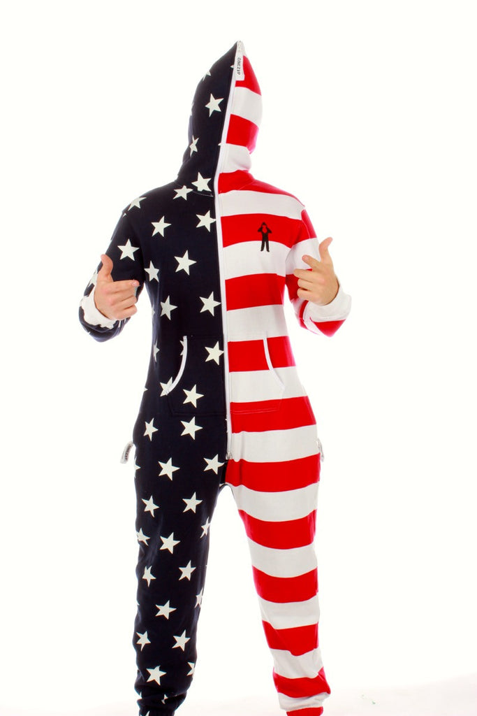 The Sam Adams American Flag Onesie (a.k.a. Body Sock)