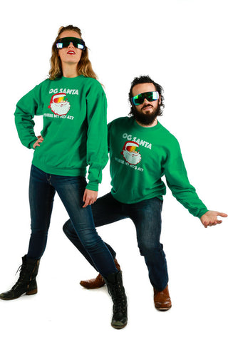 OG Kringle Where My Ho's At Santa Sweatshirt - Shinesty