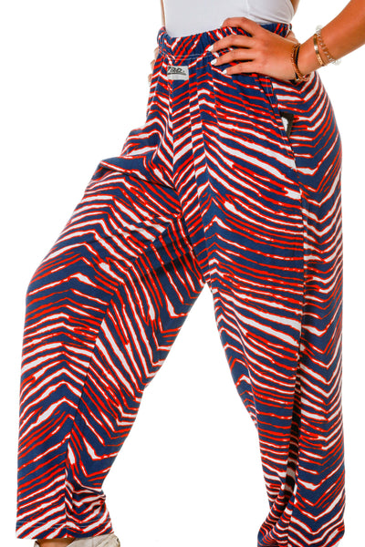 Like The Bills Mafia Women's Blue And Red Hammer Pants