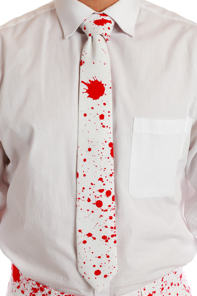 The American Psycho | Blood Splatter Tie
