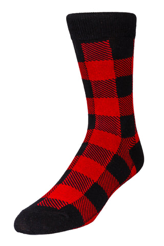 Buffalo Check Dress Sock | Pre-Order | Delivery November 2018