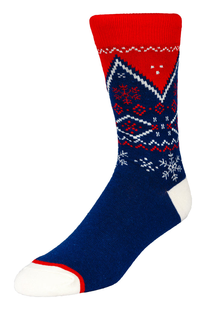 Navy Nordic Dress Sock