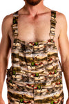 Duck hunting men's overalls