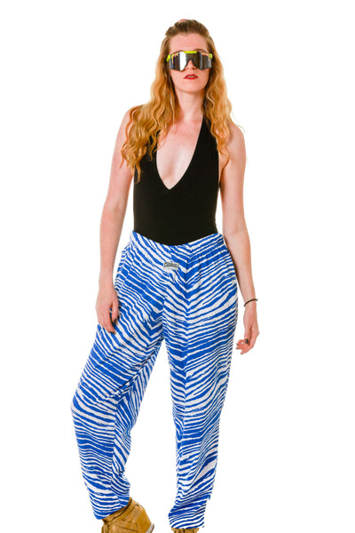 The Cage Free Ladies White and Blue Hammer Pants