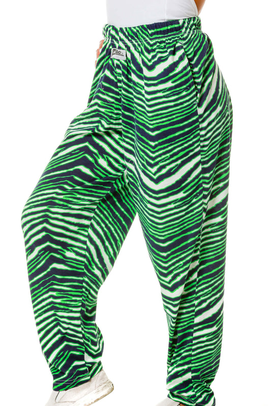 The Green Zooted Zebras | Zubaz Ladies Hammer Pants