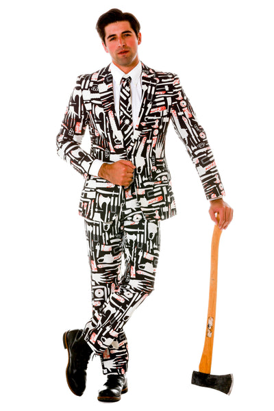 Mens Halloween Suit Weapons of Choice