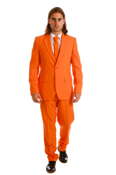 Men's Burnt Orange Suit
