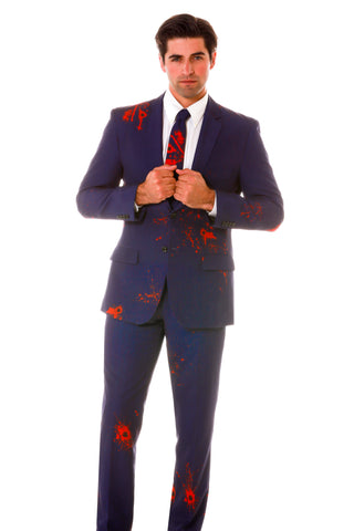Bulletholes Halloween Suit for Men