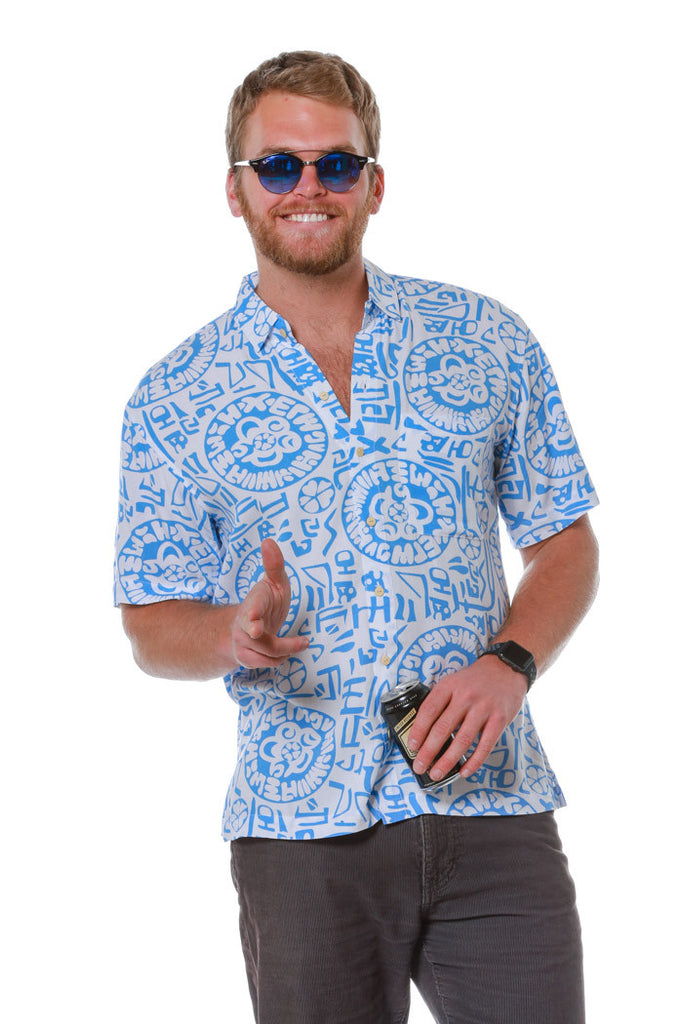The Hybrid Temple Hawaiian Shirt
