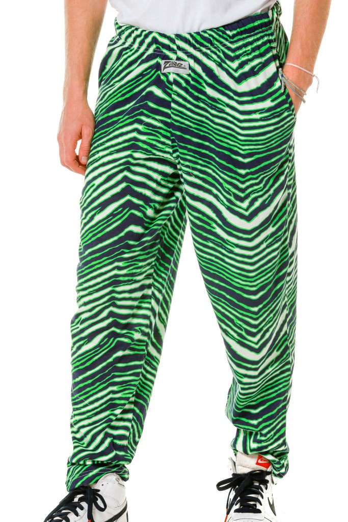 The Green Zooted Zebras Zubaz Hammer Pants
