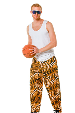 black and yellow hammer pants by zubaz