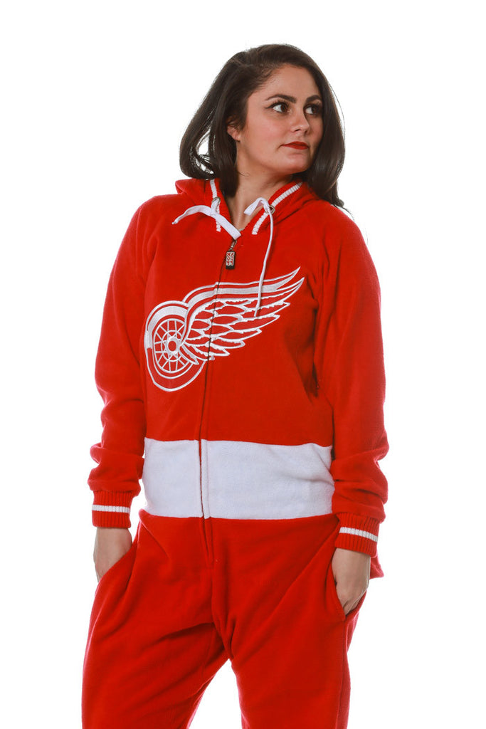 Red Wings Women NHL Onesie - Shinesty