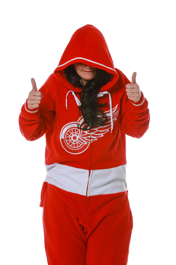 The Detroit Redwings Official NHL Onesie
