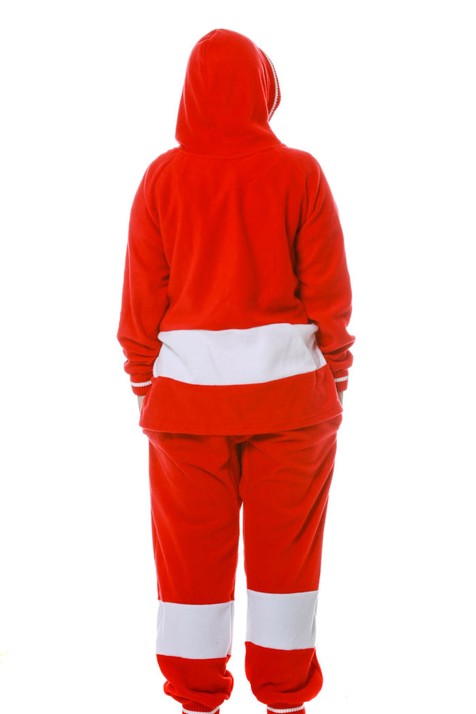 The Detroit Red Wings Onesie Rear View
