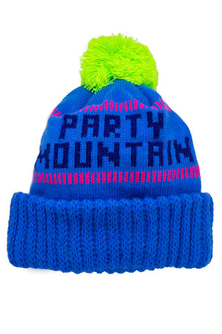 Party Fuggin Mountain Pit Viper Ski Beanie - Shinesty