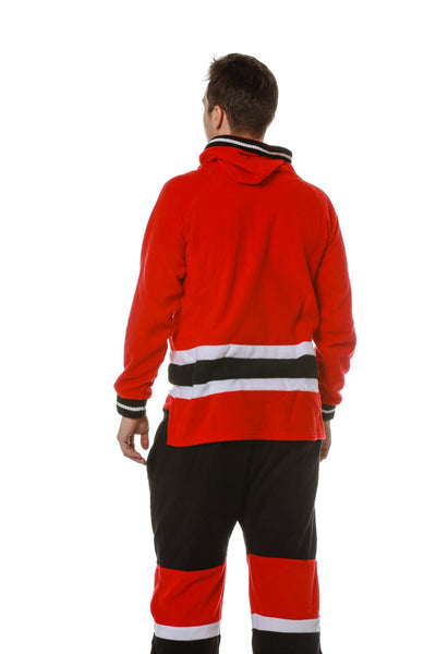 The Chicago Blackhawks Official NHL Onesie Rear 2 View Pajamas