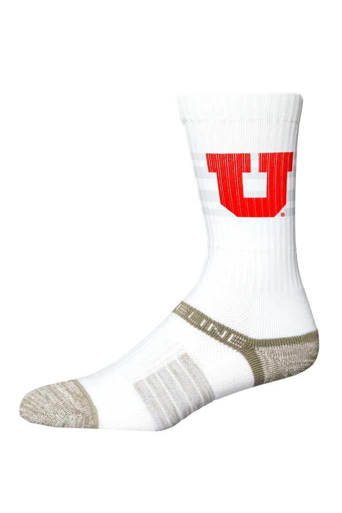 The Swoop's | University Of Utah White Socks