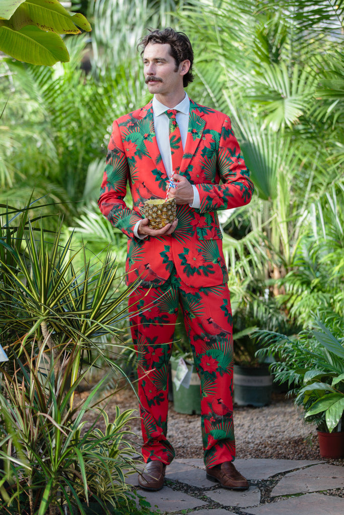 The Mele Kalikimaka Ugly Christmas Suit - Shinesty