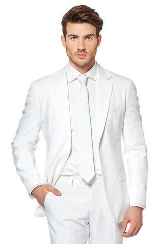 Mens All White Suit