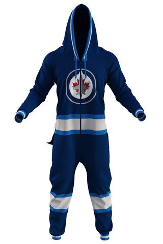 men's winnipeg jets onesie