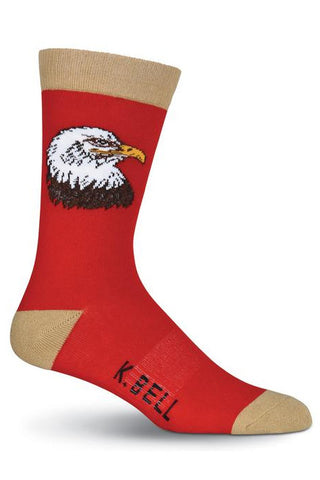 The Screaming Eagles Bald Eagle Socks
