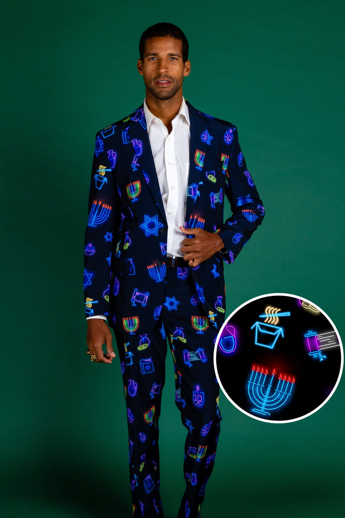 Latke'd and Loaded | Hanukkah Suit