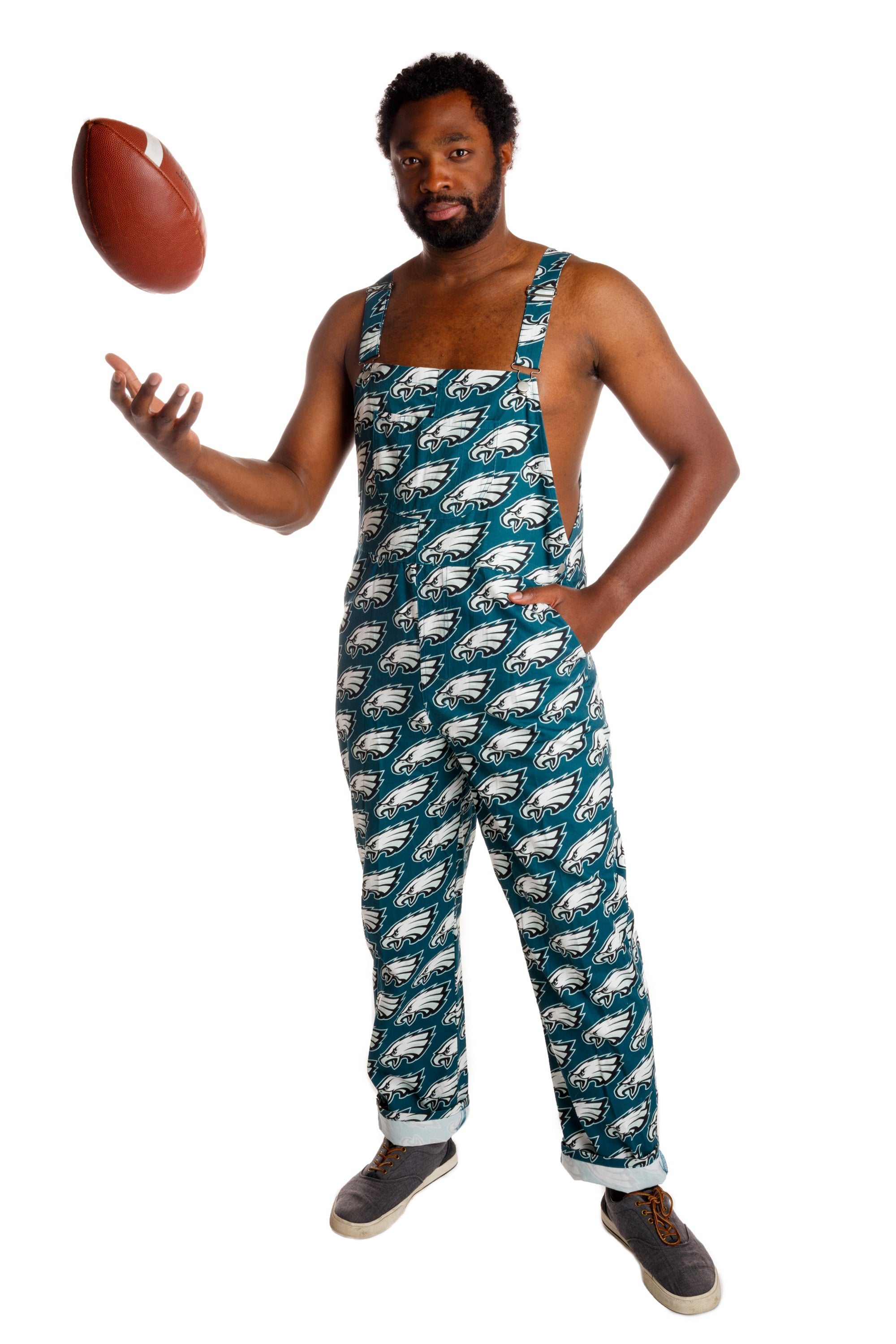 new arrival a30ca c3f01 The Philadelphia Eagles | Unisex NFL Overalls