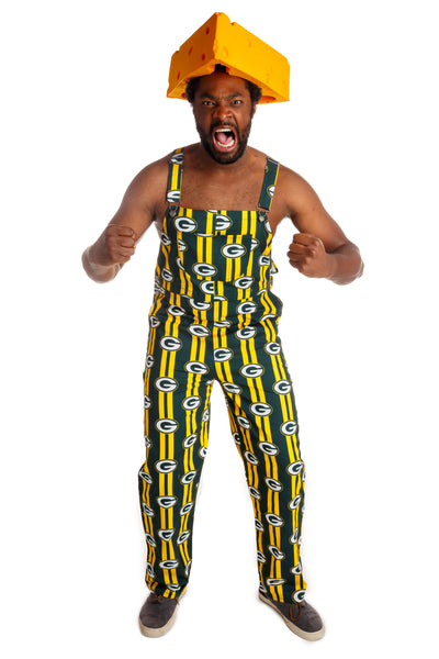 Green Bay Packers Unisex NFL Overalls | Pre-Order | Delivery November 2018