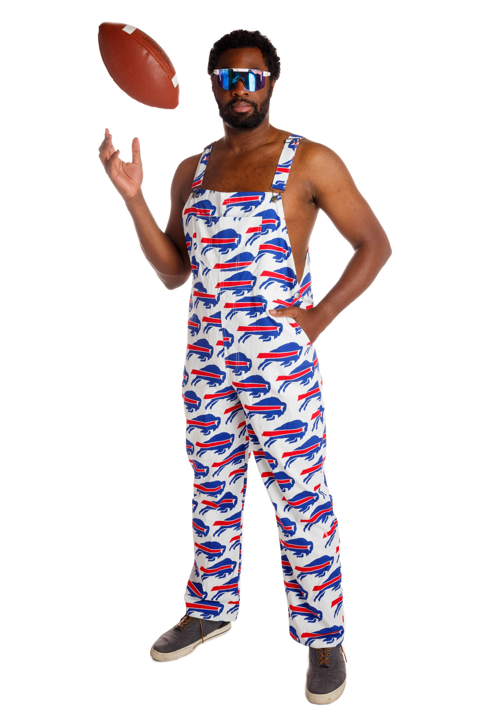 promo code b5a39 c3fe5 The Buffalo Bills | Unisex NFL Overalls