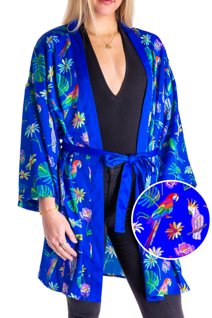The Monsoon Maiden | Women's Tropical Party Kimono
