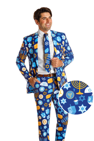 Men's Hanukkah suit