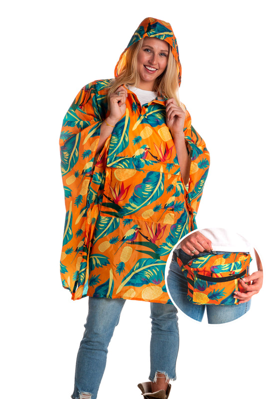Cruise Ship Casanova Party Poncho Fanny Pack
