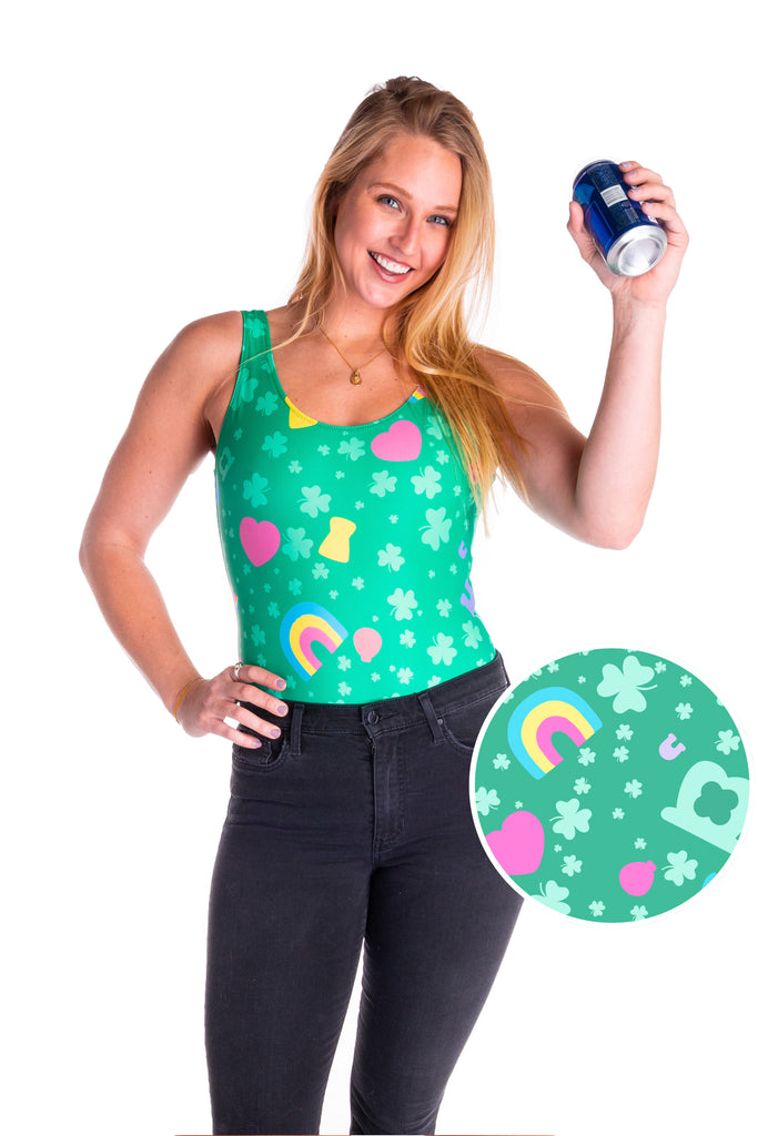 The Sweet Tooth Lucky Charm St. Patrick's Day Bodysuit