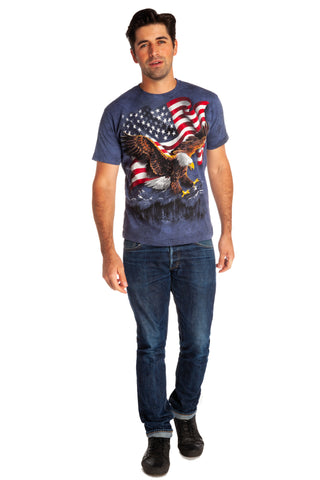 bald eagle mens shirt