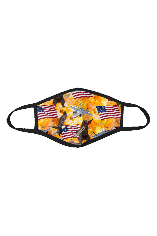 USA Explosion Face Mask