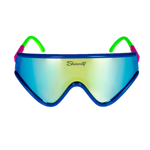 FREE Blue Macho Sunglasses