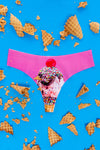 Ice Cream Cone Seamless Thong