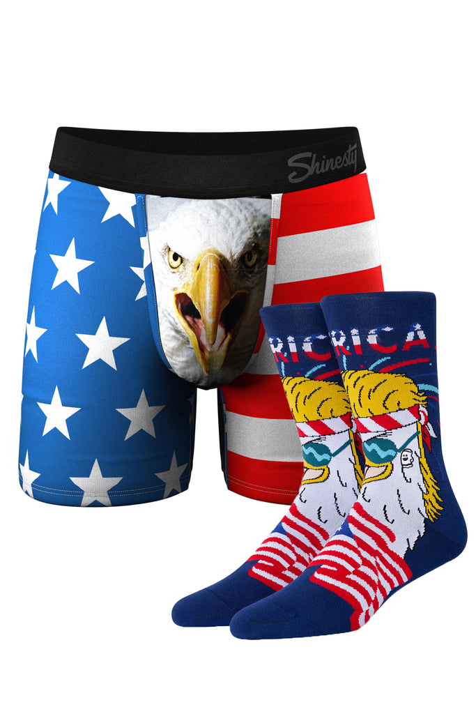 The Mascot | Eagle Boxer and Sock Pack