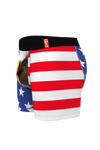 The mascot shinesty American flag ball hammock boxer briefs